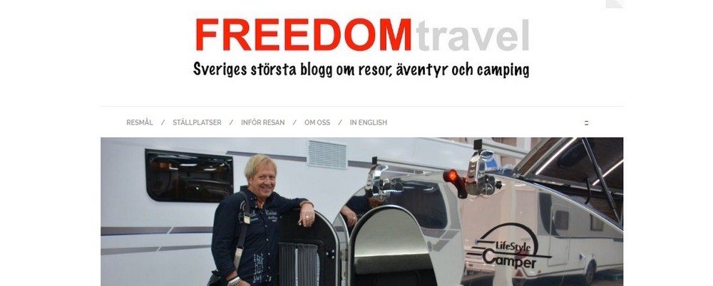 freedomtravel blog about lifestyle camper